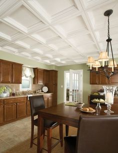 Ceilings and Ceiling Tile Systems by Armstrong : Easy Elegance Coffer...available thru Doug Ashy
