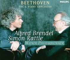 Beethoven Piano Concertos 1 - 5 - Alfred Brendel / Rattle - Decca