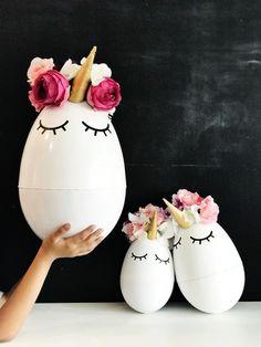 DIY Jumbo Easter Eggs » Little Inspiration