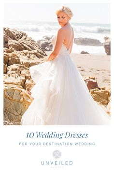 Catalina Island Wedding Dresses for Maxi