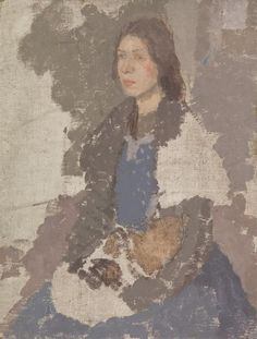 Berkin Arts Gwen John Giclee Print On Canvas-Famous Paintings Fine Art Poster-Reproduction Wall Decor(Young Woman Holding A Cat) Large Size x inches Woman Painting, Figure Painting, Painting & Drawing, Body Drawing, Edouard Vuillard, Portraits, Portrait Art, Portrait Paintings, Female Portrait