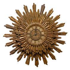 A Sunburst Clock