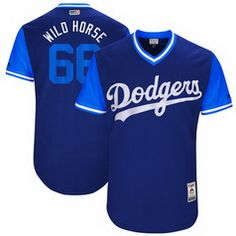 62231ce6cd5 Men s Los Angeles Dodgers Clayton Kershaw -Kersh- Majestic Navy 2017 Little  League World Series Players Weekend Stitched Nickname Jersey