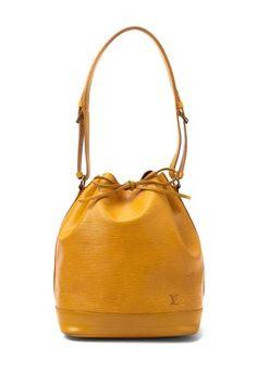 Vintage Leather Noe Shoulder Bag
