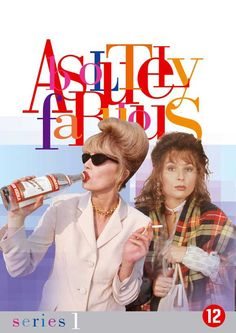 Absolutely Fabulous is a British sitcom about the misadventures of Edina Monsoon (writer Jennifer Saunders) and Patsy Stone (Joanna Lumley); Jennifer Saunders, Comedy Tv, Comedy Show, Comedy Series, Bambi, Patsy And Edina, Dawn French, Joanna Lumley, Ab Fab