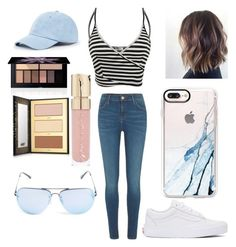 """""""Your my th3rteen reasons"""" by boobalo on Polyvore featuring River Island, Vans, Sole Society, Smashbox, Smith & Cult, tarte, Quay and Casetify"""