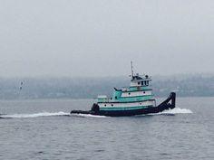 Tiffany Blue Tugboat