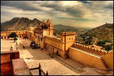 Amber Fort, Jaipur, India ©HusarD #amberfort #jaipur #india