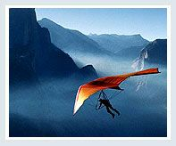 Experience Hang Gliding In Kashmir...the moment would probably be very brief
