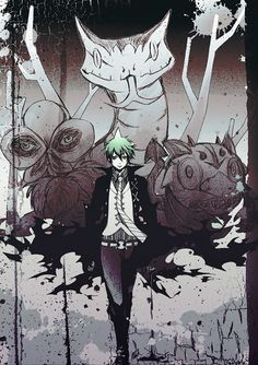 Blue exorcist - Amaimon. I EFFING LOVE AMAIMON!!!!