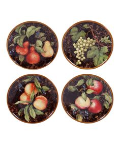 This Capri Dessert Plate - Set of Four by Certified International is perfect! #zulilyfinds
