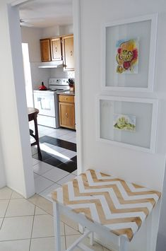 DIY wood chevron