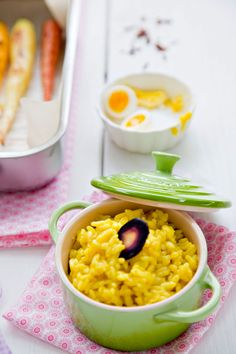Saffron Risotto by tartineandapronstrings #Risotto #Saffron