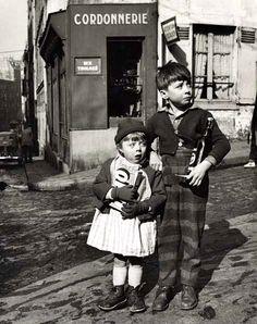 Parisian children, 1953