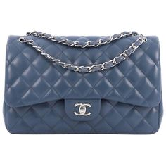 a0c6711fa45c Chanel Classic Double Flap Bag Quilted Lambskin Jumbo