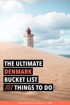 The Ultimate Denmark Bucket List. 101 awesome things to do denmark bucketlist aarhus copenhagen roskilde 799670477568468367 Aalborg, Travel Guides, Travel Tips, Travel Destinations, Aarhus, Helsingor, Denmark Travel, Roadtrip, Travel Images