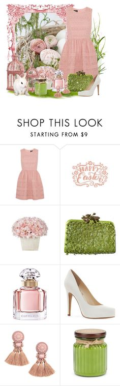 """""""Happy easter"""" by caribea ❤ liked on Polyvore featuring Pixie, Needle & Thread, Valentino, Guerlain, Jessica Simpson and Modern Alchemy"""