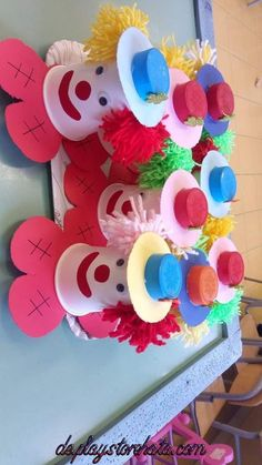 flowers crafts for kids paper * flowers crafts for kids . flowers crafts for kids preschool . flowers crafts for kids easy . flowers crafts for kids paper . flowers crafts for kids spring . flowers crafts for kids toddlers Kids Crafts, Clown Crafts, Carnival Crafts, Kids Carnival, Cup Crafts, Daycare Crafts, Summer Crafts, Preschool Crafts, Easter Crafts