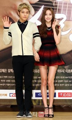 [NEWS PIC] 140915 SBS My Lovely Girl Press Conference - #인피니트 Myungsoo with Haeryung #2 pic.twitter.com/uHkkl0JT16