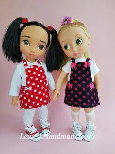 Disney Animator Dolls Clothes. 16 inch doll clothes. Disney animator doll dress. Dress for dolls Disney Animator 16'. 16 inch doll dress. by LemeshHandmadeToys on Etsy