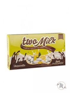 Confetti Maxtris Twomilk limoncello.  Anima di cioccolato bianco al gusto di limoncello, ricoperta da un sottile strato di zucchero.  Confezione da 1 kg. Noi di Martha's Cottage siamo rivenditori autorizzati Maxtris. #confettata #confetti #matrimonio #weddingday #ricevimento #maxtris #wedding #sconti