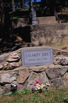 Grave Marker of Calamity Jane...Deadwood,  South Dakota