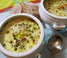 Clam Chowder - a winning recipe from the Seafest Chowder Cookoff