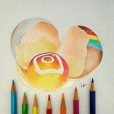 Social Media Instagram Egg