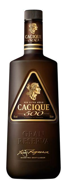 Ron Venezolano - Cacique 500. Rum from Venezuela. mi ron favorito, lejos el mejor de todos....