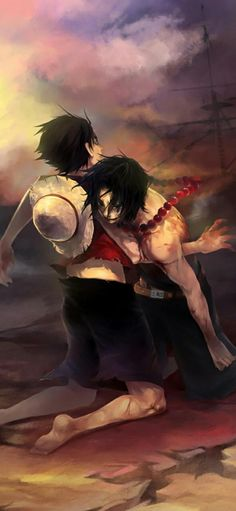 Hd Anime Wallpapers, Background Images Wallpapers, Wallpaper Backgrounds, One Piece Ace, One Piece Luffy, Yandere Manga, Anime Manga, One Piece Wallpaper Iphone, Ace And Luffy