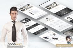 Goodway - A Business Template by @Graphicsauthor
