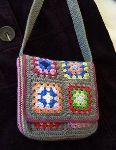 Messenger Bag By Judith L. Swartz - Free Crochet Pattern - (ravelry)