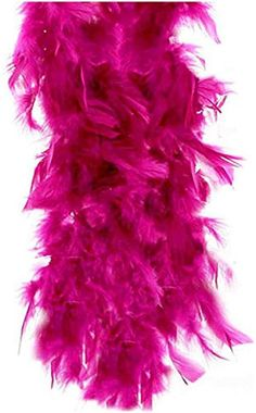 "Bachelorette Feather Boa Pink /& White Brithday Party Accessory 55GM 6 ft 72/"" New"