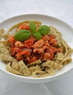 vegetarisk bolognese