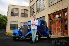 Mary Richards Photography: Senior guy ~ vintage car