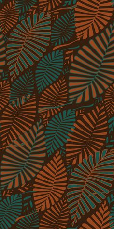 Organic Leaves | Wagner Campelo | Society6