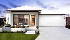 Modern rendered elevation designed for lots