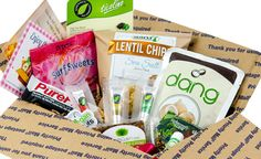 Vegan Cuts Snack Box, under 20 dollars per month
