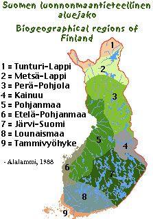 Pohjoiset alueet/yleiskuvaus