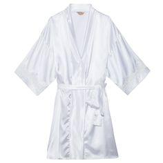 Robe curto cetim e renda - OQVestir