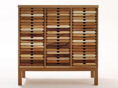 Cajonera de madera SIXTEMATIC COLLECTOR Colección SIXTEMATIC by sixay furniture | diseño Szikszai László