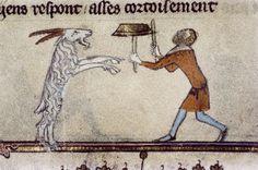 Plate Spinner - Romance of Alexander (Bodley 264, fol. 130r), c. 1338-44