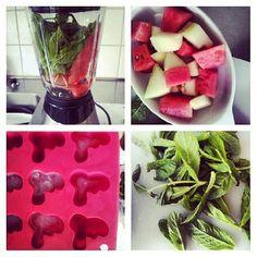 @evajeminas photo: Det går inge vidare med min detox. Chlorelladrinkar är inte det första jag vill dricka på morgonen. Men en juice med färska meloner och mynta. #juicecleanse #detox #drink #fresh #fruits #rawfood #raw #drinking #icecold #morning #fitfam #fitspo #recepie #greentea #fruits #icetea #fitness #lifestyle #diet #dedication #motivation #teamstronger #stronger #strongerfitness #gymlife