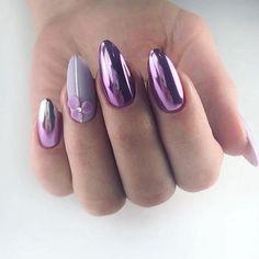 """Идеи дизайна ногтей on Instagram: """"Какой вам нравится 1,2,3,4,5,6,7,8,9 или 10? Оставляйте любой комментарий, чтобы видеть нас в ленте😘😍 Подписывайтесь @nails_desing_idea 💝💝💝…"""" Nail Palace, Nail Envy, Purple Nails, Nail Art Designs, Gel Nails, Fingernail Designs, Hipster Stuff, Nail Polish Art, Purple Nail"""