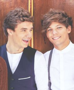 Liam and Louis.  I'm so proud of Lou for being so supportive and comforting to Liam after the breakup with Danielle.  <3