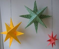estrela de papel