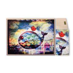 fatáblán, akasztóval cm méretbenPrint on wood Artwork, Starry, Starry Night