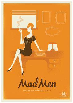 Mad Men Season 6 by Radio, via Behance