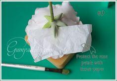 {How to Make Gumpaste a Rose Calyx}