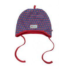 Bonnet péruvien étoiles rouges Piccalilly